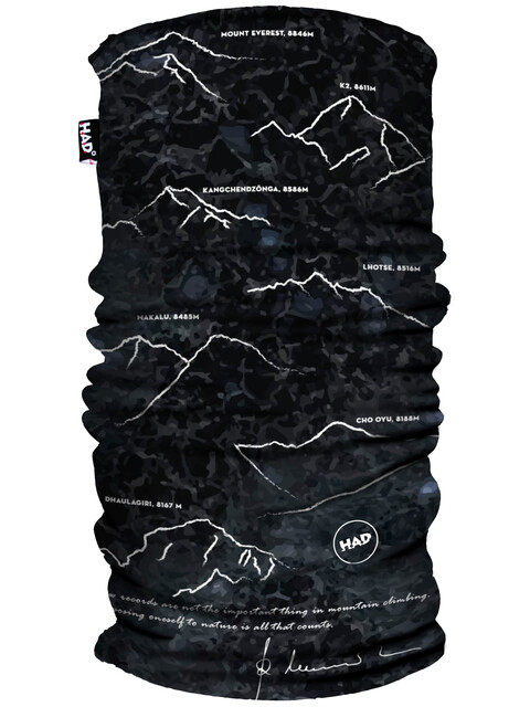 HAD Printed Fleece Tube Scarf 8000plus by Reinhold Messner